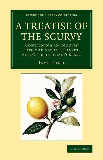 林德的《论坏血病》现代版封面就是柠檬