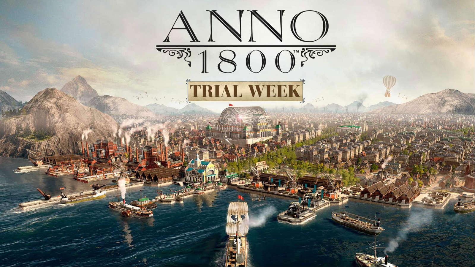 《纪元1800》开启免费试玩:即日起至本月18日体验游戏