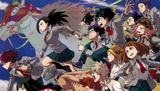 《我的英雄学院》动画第四季将于10月12日播出,并公开动画版新角色声优