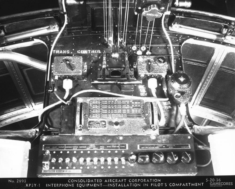 机内通讯器控制面板
