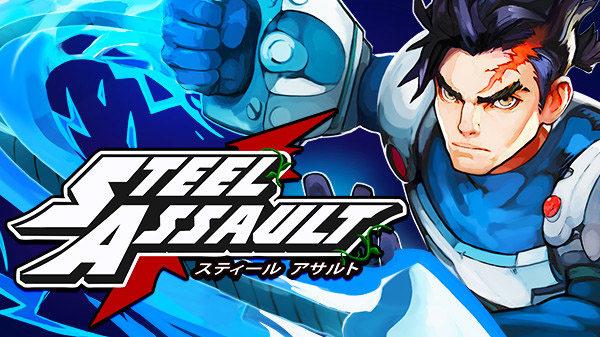 16位复古横版动作游戏《钢铁突击》将于9月28日在PC及NS发售