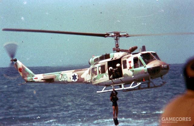 海上训练中的贝尔205,是124中队的