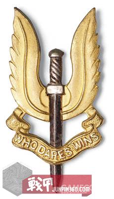 SAS匕首是跟英国SAS一样的