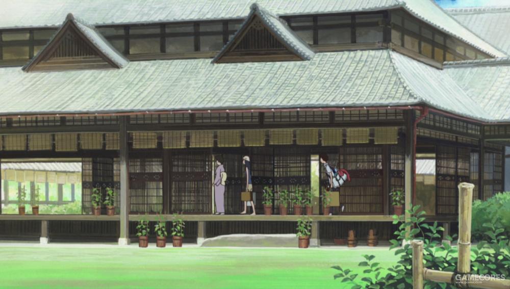 总感觉阵内家的宅邸外观和上田高校有些相似