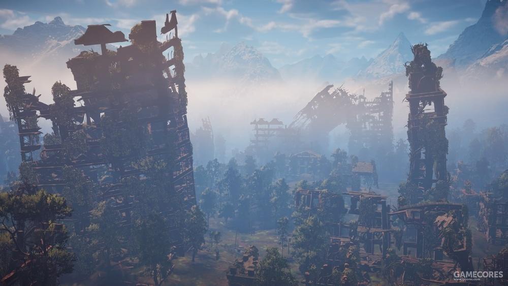 游戏中丹佛的废墟