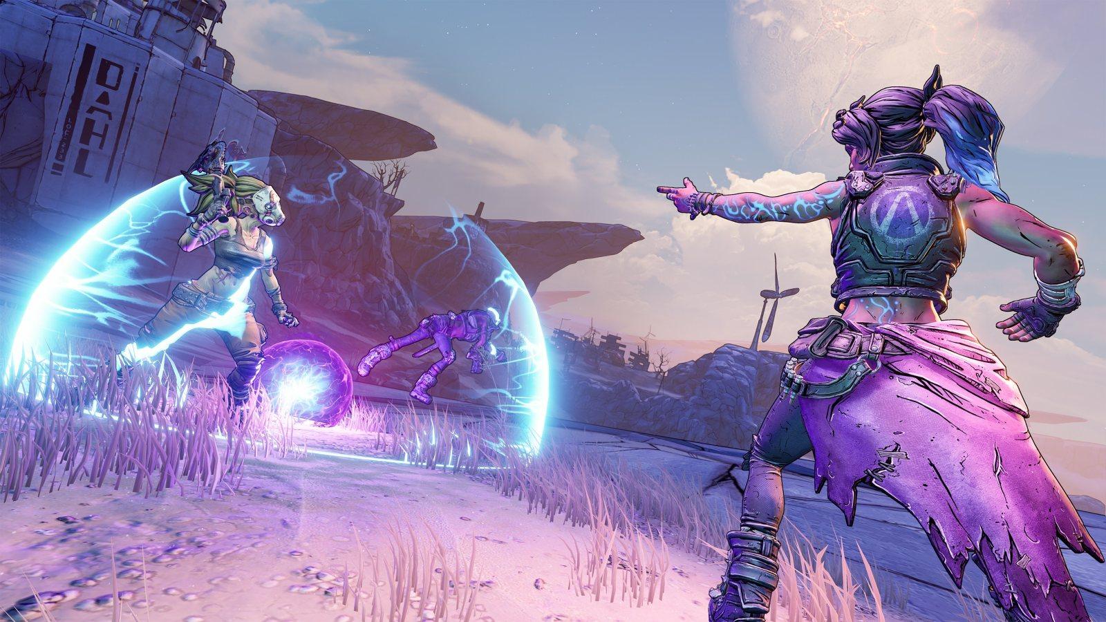 新技能树要来了,《无主之地3》公开两位角色的新技能树详情