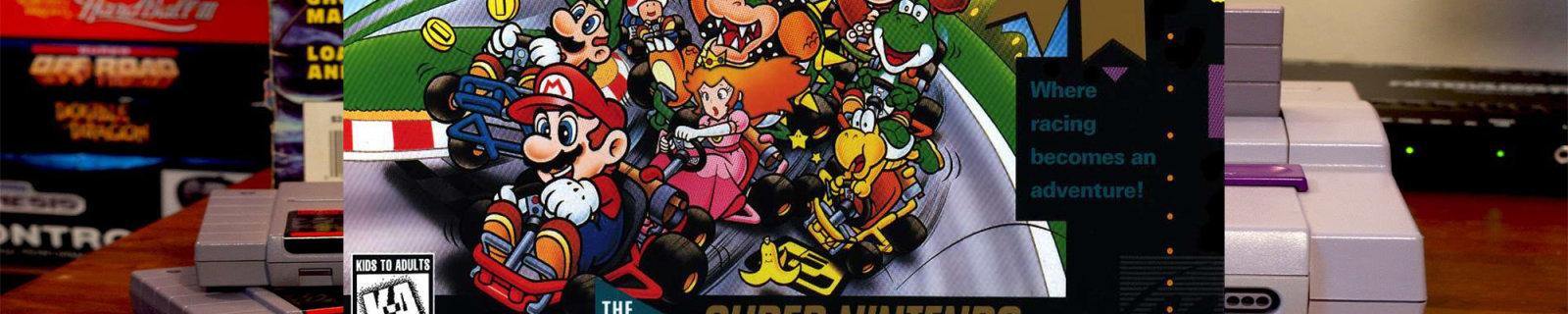 """""""超任""""主题新3DSXL又来了,预装了一份原汁原味的《超级马力欧大赛车》"""
