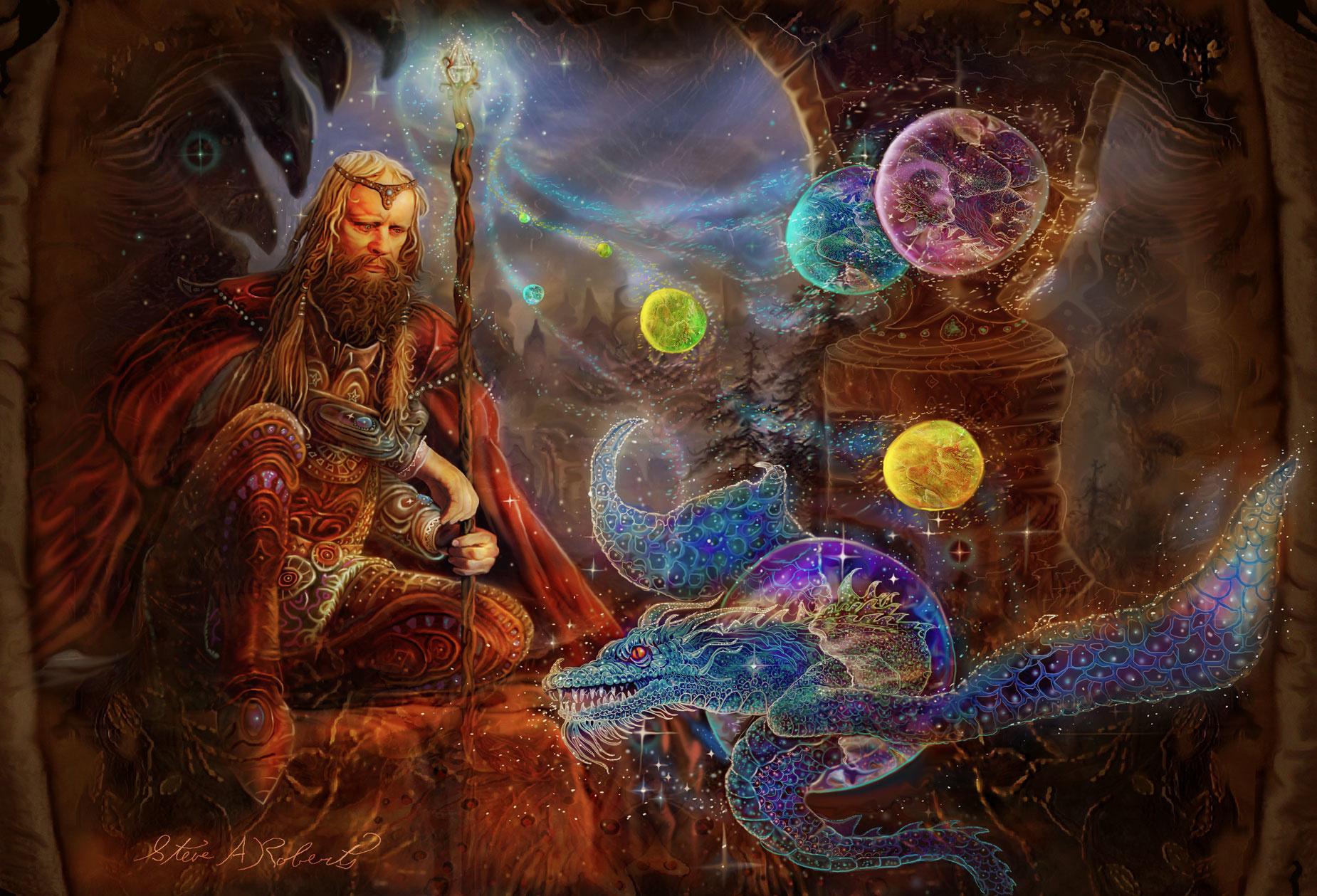 從文化的角度解讀:為何大多數西方魔幻背景作品中法師最強