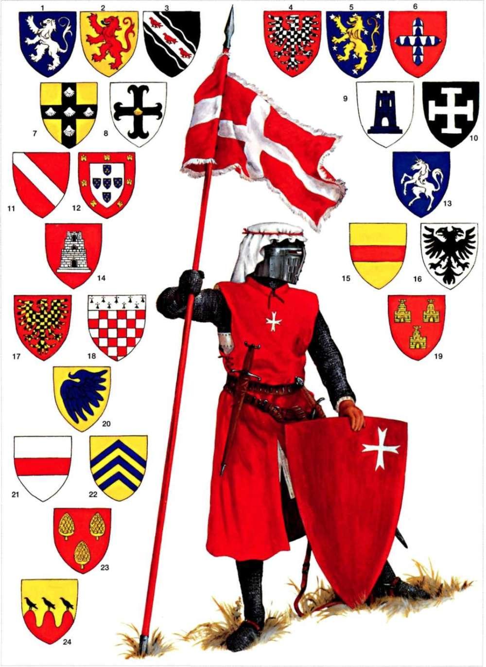 14世纪初的医院骑士