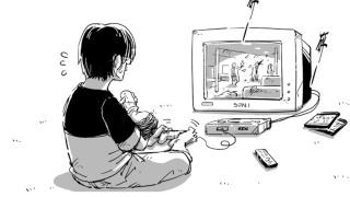 漫画连载:《高玩老爸》vol.1