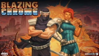 类魂斗罗风格《Blazing Chrome》定于7月11日发售
