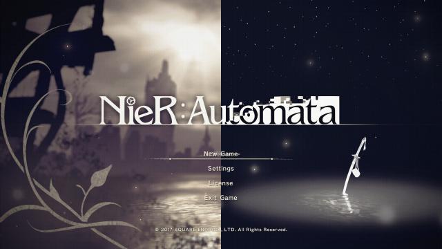 《尼尔:自动人形》:一场游戏,一场心之补完