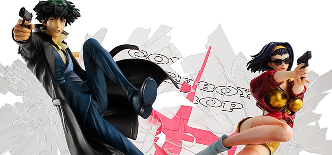 MegaHouse《星际牛仔》斯派克、菲比例模型即将开启预购,有套装商品