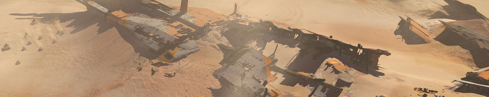 《家园:卡拉克沙漠》新预告片回到了史诗开头