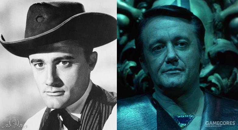 沃恩在《豪勇七蛟龙》和《世纪争霸战》两片中的形象对比