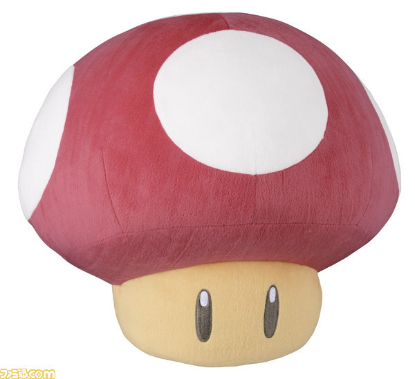 ●B赏 「蘑菇」型布偶,全长30CM