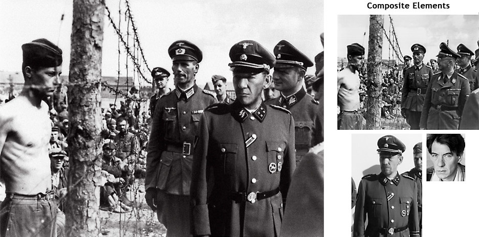 伊恩·麦克莱恩的很多剧照都是取材于希姆莱的照片
