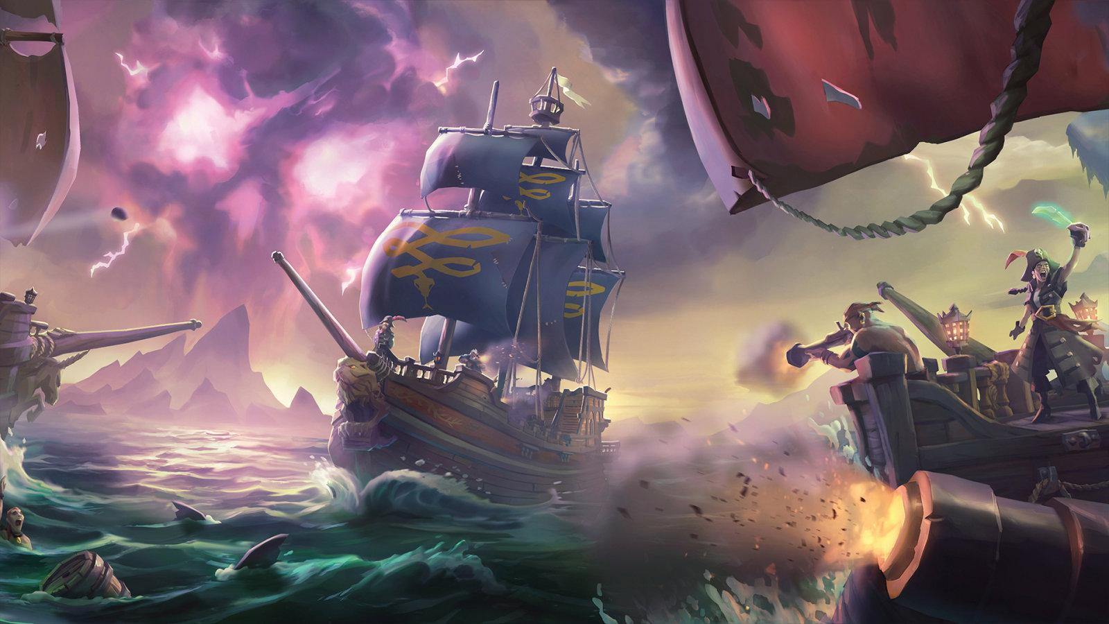 呀呼!啊哈?海盗用中文怎么打招呼?《盗贼之海》将更新繁体中文!
