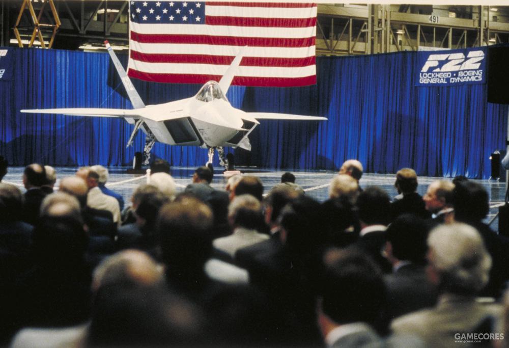洛克希德团队的原型机出厂仪式在1990年8月29日举行。举办地为洛克希德在帕姆代尔的洛克希德第10工厂。