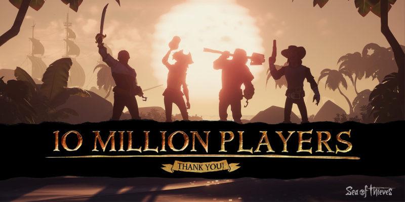 里程碑!《盗贼之海》玩家数量突破千万