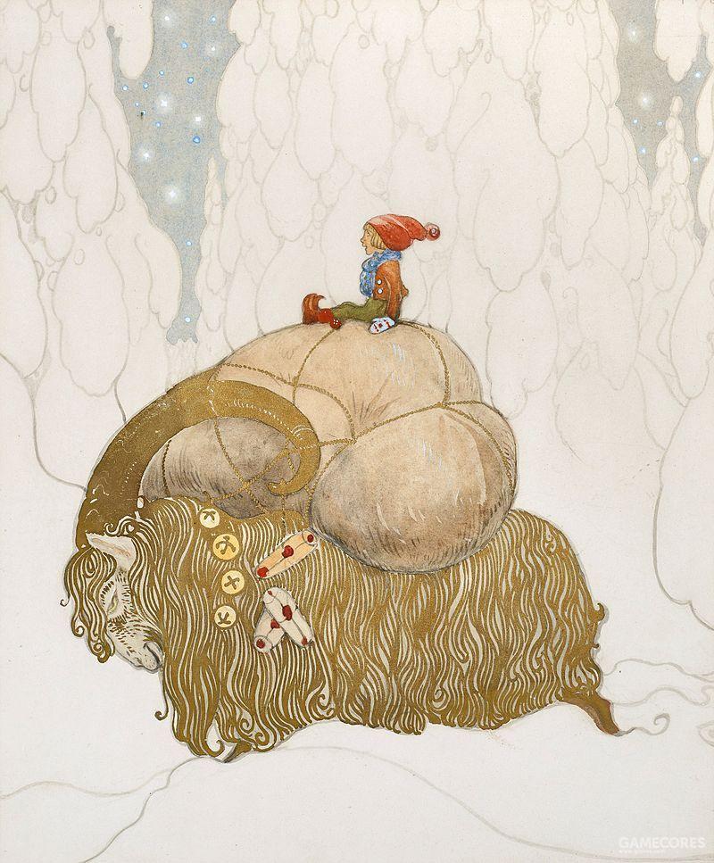 尼塞矮人与圣诞山羊