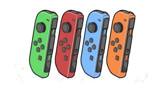 一张四种颜色的JOY-CON图片暗示《城堡毁灭者》登陆NS平台?