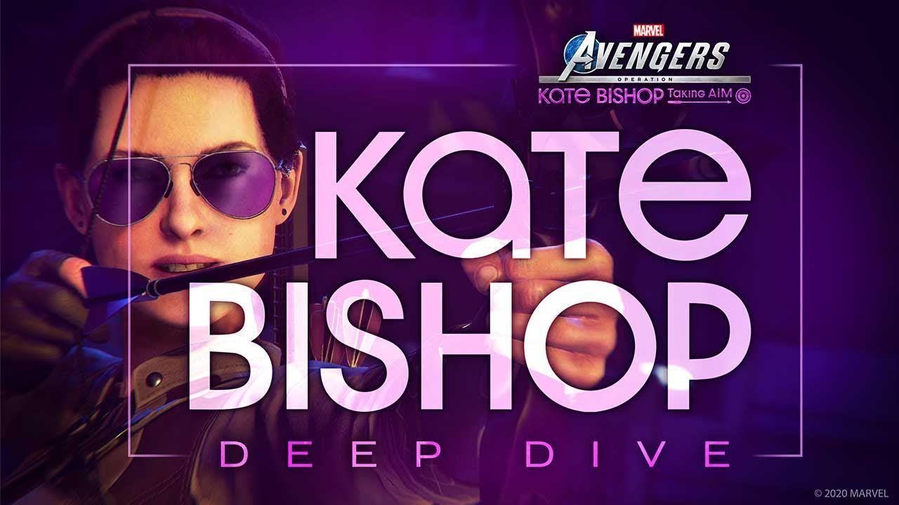 """SE公布《漫威复仇者》发售后首位超级英雄:女鹰眼""""凯特·毕夏普"""""""