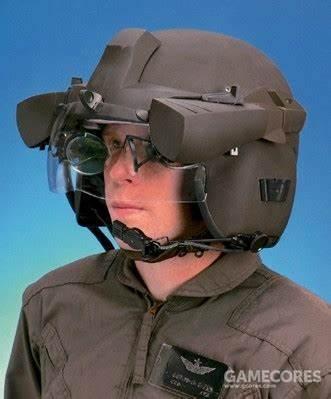 头盔显示器系统(HMD)也是同理,在LCH刚刚提出时属于全新概念。