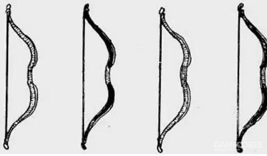 北宋弓,弓形为Σ形的反曲造型
