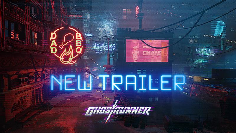 《Ghostrunner》公布最新预告,2020年内发售