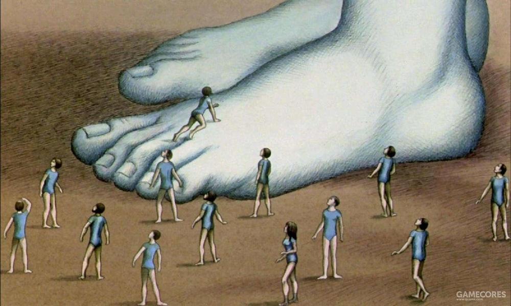 在《原始星球》的世界观众,人类是奥姆人的宠物