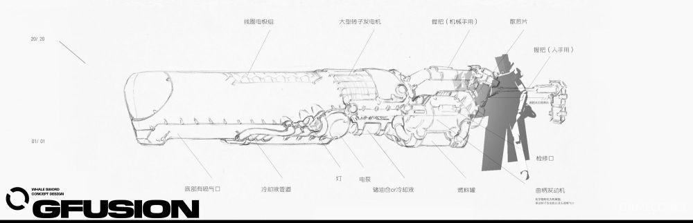 鲸鸣重剑设定