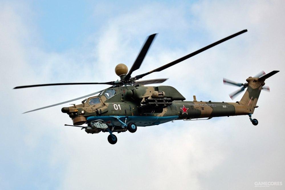 米-28N,不同于米-24和卡-52,它从未出现在《武装突袭》系列中