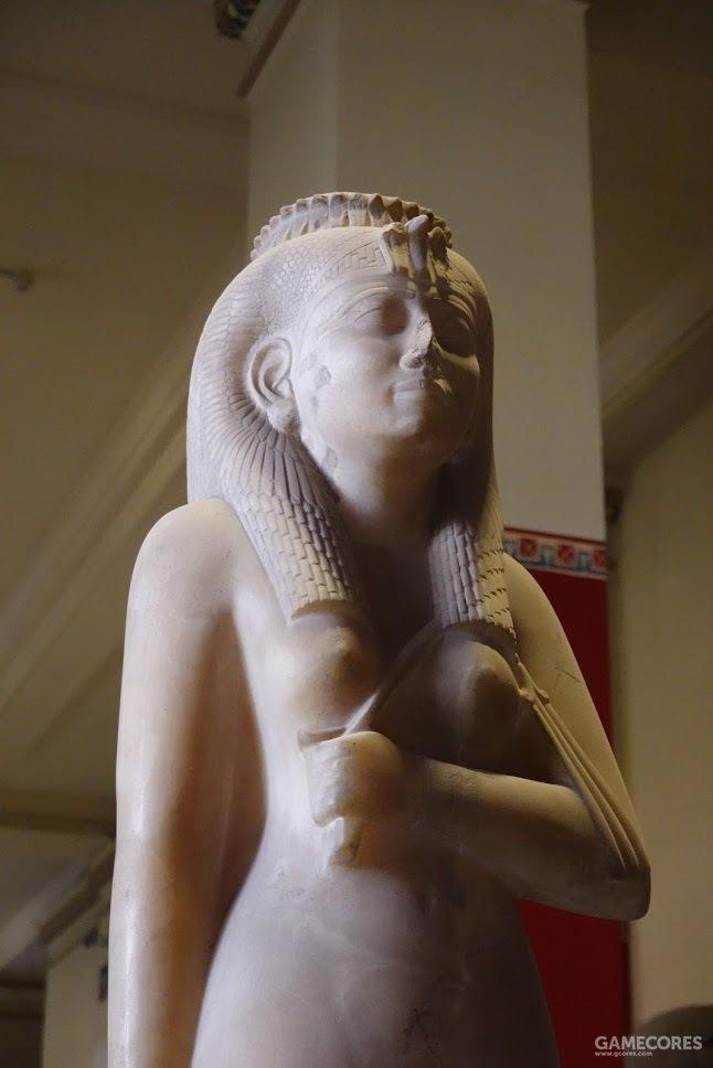 阿曼尼尔迪斯一世,塑造于第二十五王朝时期(公元前八至七世纪)