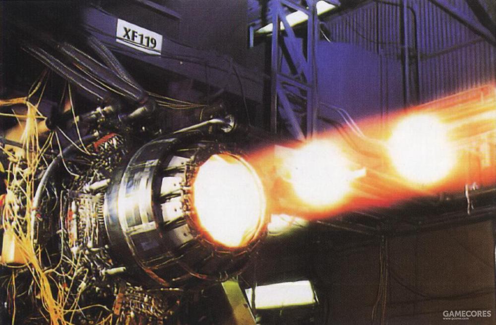 普·惠在地面试验用的XF119上更换了全新设计的大型风扇以验证具备达成35000磅推力的能力。而提供给原型机使用的YF119依旧维持30000磅推力。