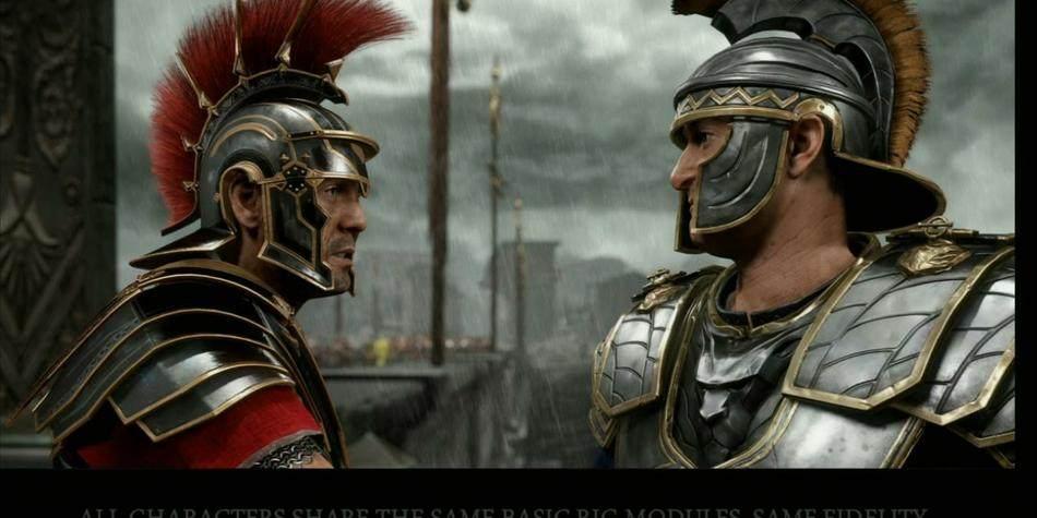 崛起:罗马之子 最新两段游戏视频