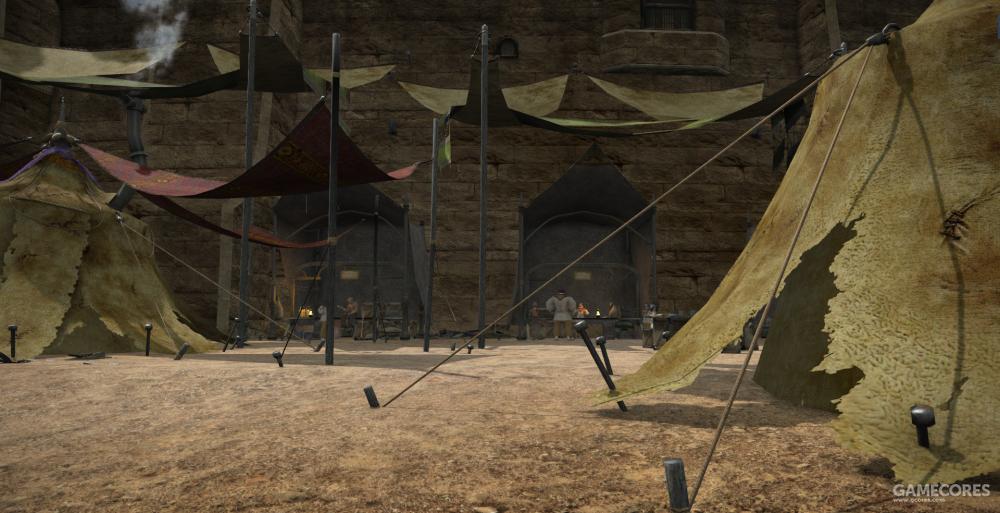 作为乌尔达哈城外最大的平民窟,弃石贫民窟收容了倾家荡产的商人,阿拉米格的逃难者等形形色色的人,弃石源于来自于部分乌尔达哈的市民的恶趣味:向着这片贫民窟投掷石头。