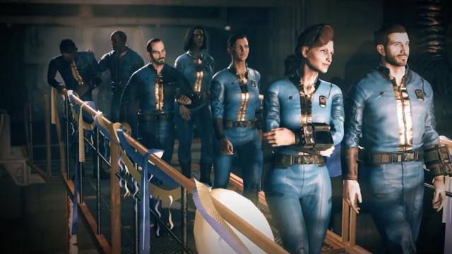 《辐射 76》公布游戏开场动画