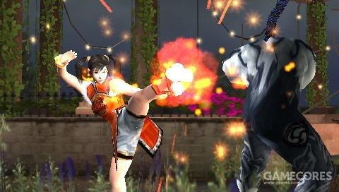 PSP上最好的格斗游戏没有之一