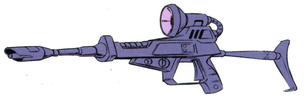 基于原型光束步枪进一步完善而来的M-16光束步枪。相比原型,其增加了枪管长度并增加了一个枪托