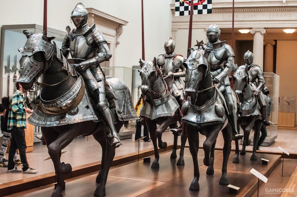 敕令骑士的全套装甲,大都会博物馆