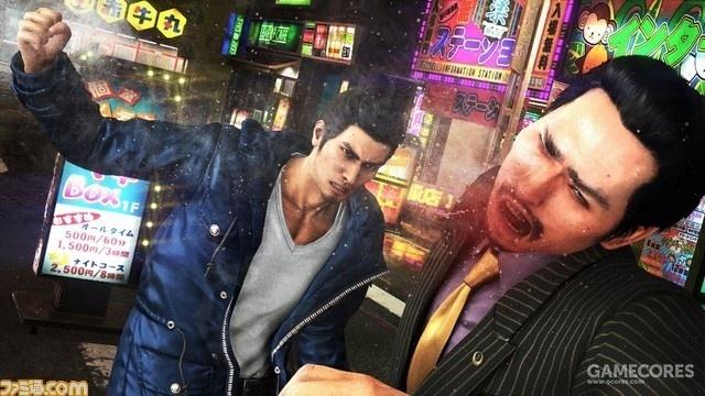 Fami通之前放出的《如龙6》游戏截图