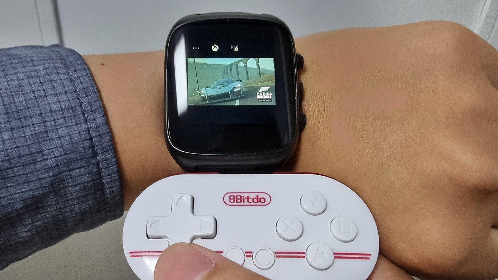 在你手腕上的智能手表里玩《极限竞速:地平线4》!