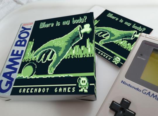 众筹达标,《Where is my body?》确认将于秋季登录GameBoy