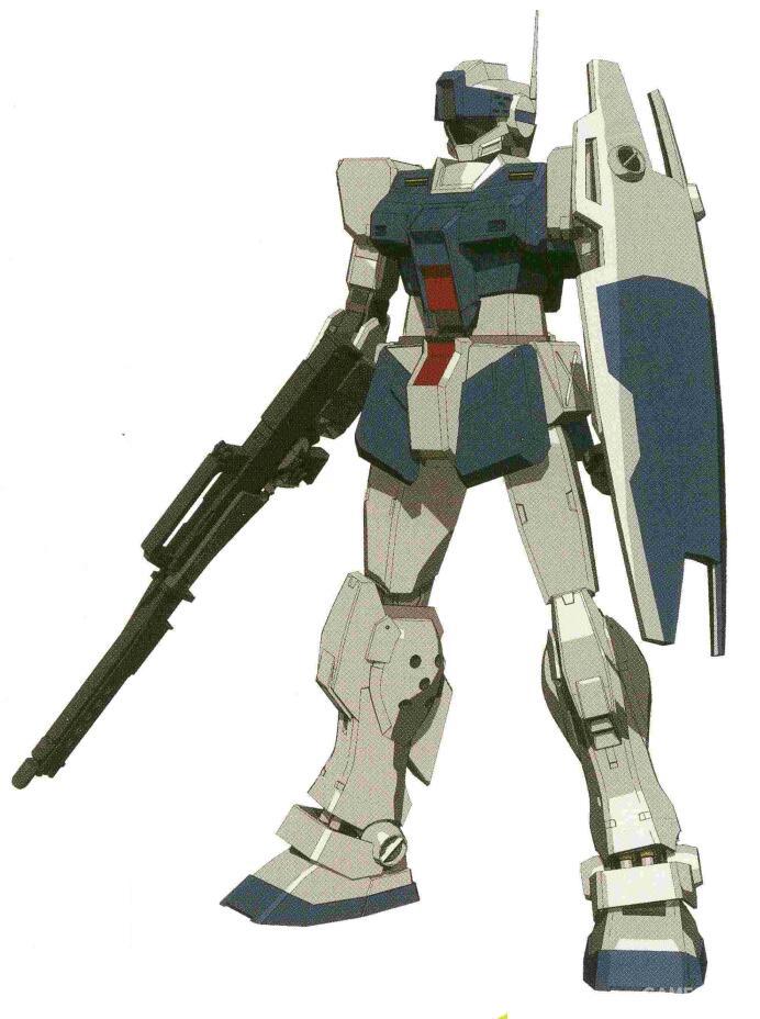 同时兼具高精度和两色能力的HWF GR-MLR79对于RGM-79SP来说是更为实用的武装。