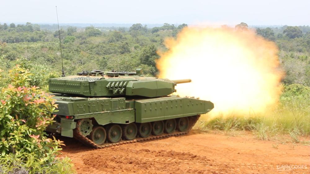 印尼陆军的豹2RI