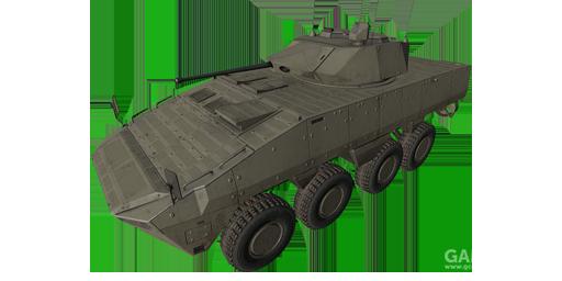 沙漠灰色涂装的AMV-7