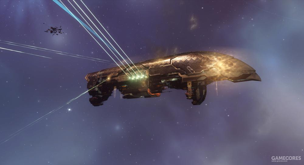 灾难级的T2科技版本,帕拉丁级掠夺舰