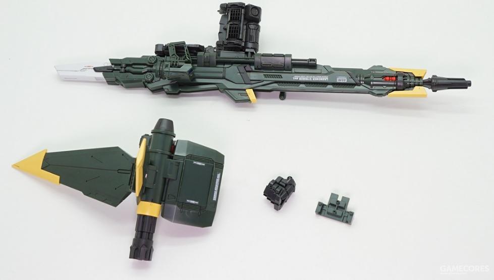 炮装背包配件一览