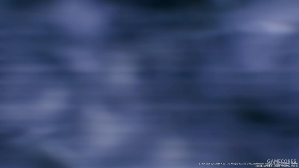 变身时出现了噪点特效,这次不是克劳德视角,看来杰诺瓦使用幻觉能力时的特效也是这个了